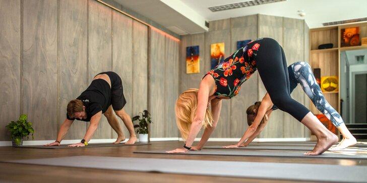 Vstupy na cvičenia jogy: Power yoga, zdravý chrbát či workout cardio