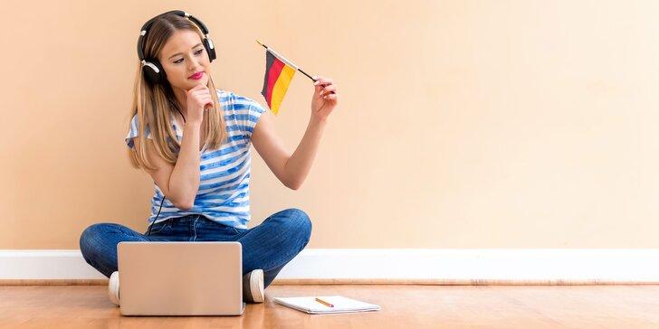 Online výučba nemeckého jazyka s rodenými Nemcami pre 1-3 osoby