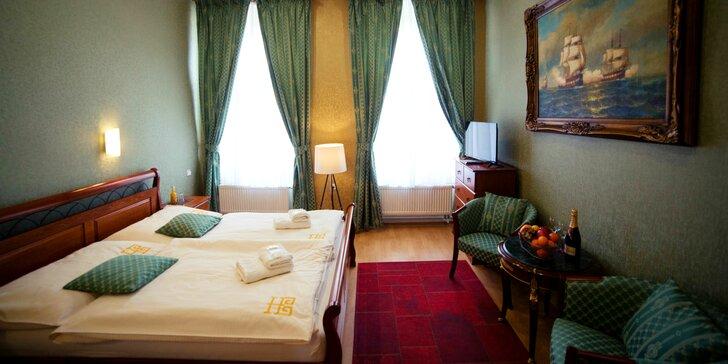 Romantika v historickom hoteli Bristol*** v centre Banskej Štiavnice