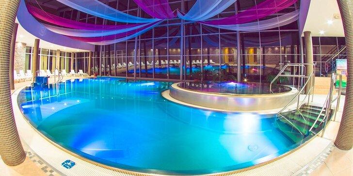 Špičkový hotel s neobmedzeným vodným a saunovým svetom počas celého pobytu, aj v deň odchodu!