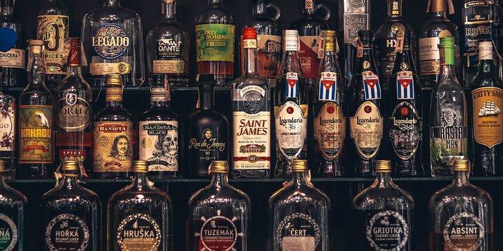 """""""Cesta Karibikom"""" - degustácia rumov s odborným výkladom v DrinkArt"""