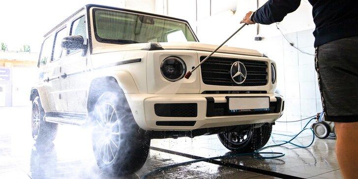 Čistenie exteriéru a interiéru auta, tepovanie, ručné voskovanie laku aj dezinfekcia klimatizácie