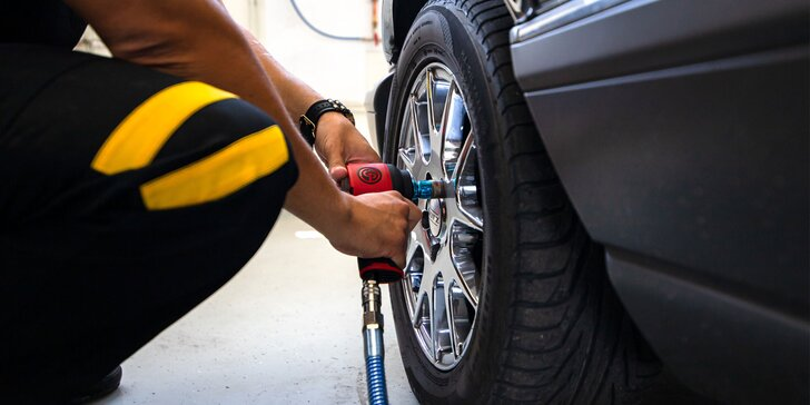 Výmena, prezutie alebo aj uskladnenie sezónnych kolies či pneumatík