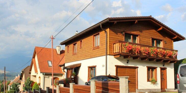Pohodová dovolenka v apartmánoch na Liptove: ubytovanie pre až 8 osôb s kuchyňou a množstvo aktivít pre celú rodinu
