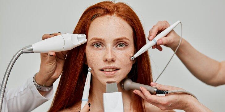 Mikrodermabrázia, rádiofrekvencia, kyslíkové ošetrenie aj skin scrubber