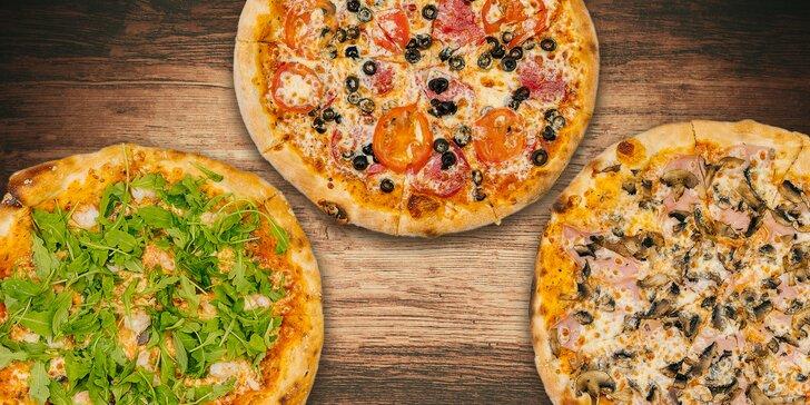 Pizza podľa vlastného výberu z 21 druhov + čapovaná Kofola Original