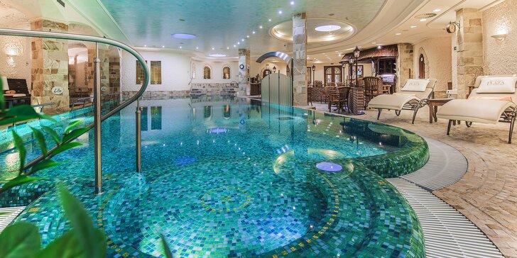 Luxusný pobyt v Karlových Varoch: 5* hotel s raňajkami a unikátnym Wellnesslandom
