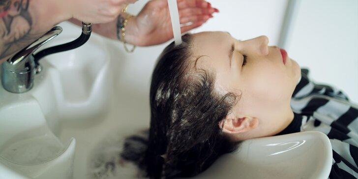 Dámsky strih alebo zimný regeneračný zábal s ozonizáciou pokožky hlavy