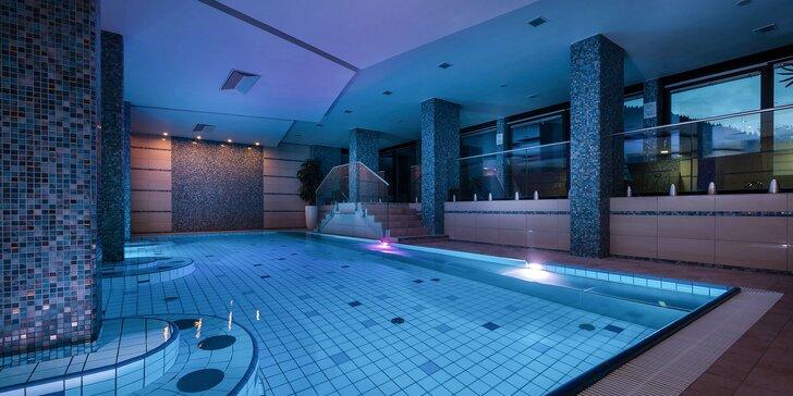Relax vo Wellness Hoteli Repiská*** v Jasnej v Nízkych Tatrách v tichom horskom prostredí s výhľadom na hrebene Nízkych Tatier