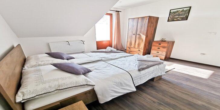 Rodinná dovolenka v nových apartmánoch Alexander v tesnej blízkosti Thermal Parku Vrbov