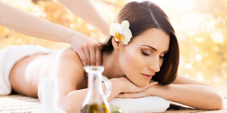 Rôzne druhy masáží: olejová, klasická, masáž lávovými kameňmi či bankovanie
