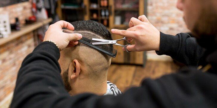 Pánsky strih alebo aj úprava brady v novom barbershope Kings of Style