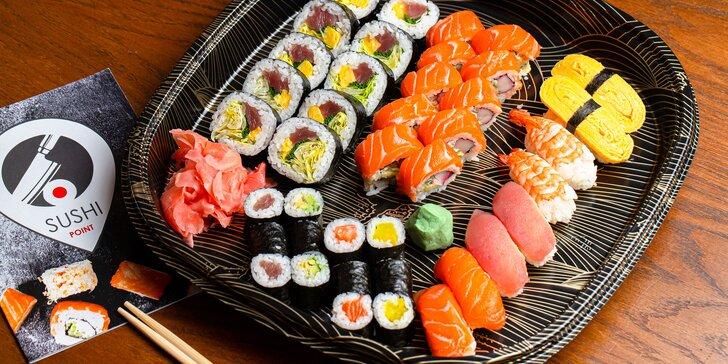 Lahodné sushi sety pre 1 alebo 2 osoby – maki, futomaki, nigiri a uramaki