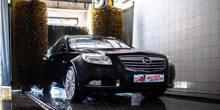 Programy na umývacej linke Čisté Fáro pre osobné autá, SUV i dodávky