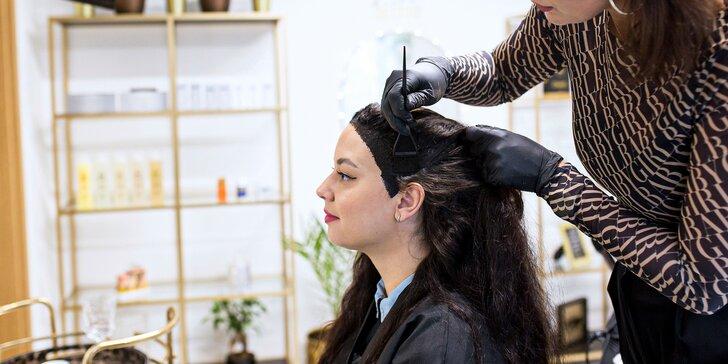 Intenzívne čistenie vlasov a pokožky, diagnostika vlasov