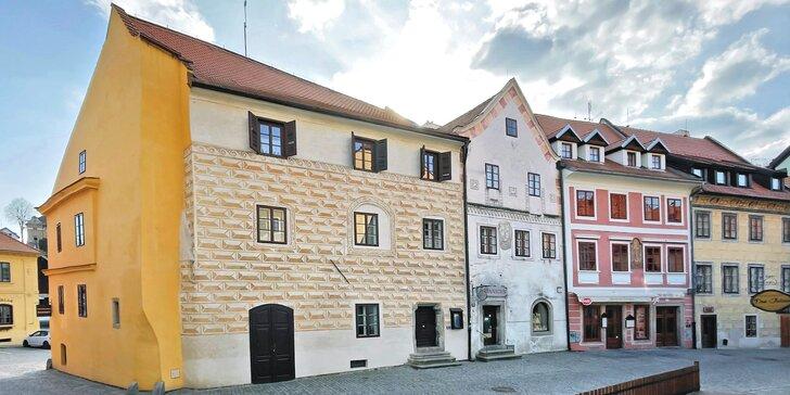 Pobyt s raňajkami v historickom centre Českého Krumlova: budova zo 16. storočia, len 5 minút od zámku