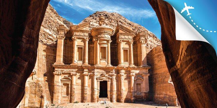 Pozrite sa do známych miest Jordánska: hora Nebo, púšť Wádí Rum či siedmy div sveta mesto Nabatejcov
