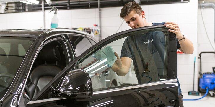 Kompletné čistenie interiéru a exteriéru auta + dezinfekcia ozónom ZADARMO