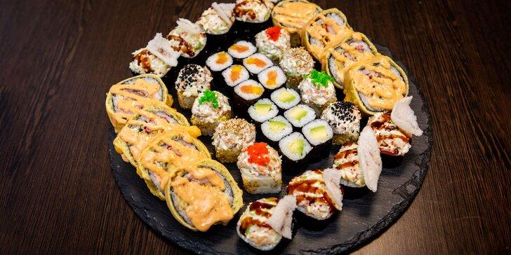 SUSHI BONSAI: Exkluzívny sushi set pre 2-3 osoby, až 36 kúskov (1120 g)!