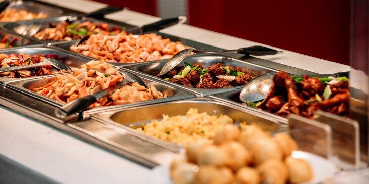 """""""All you can eat"""" v ázijskej reštaurácii Dynasty v Panorama City"""