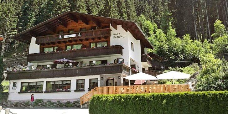 Dovolenka v Tirolských Alpách s raňajkami alebo polpenziou a privátnou saunou