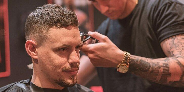 Pánsky strih a úprava brady u barbera v centre mesta
