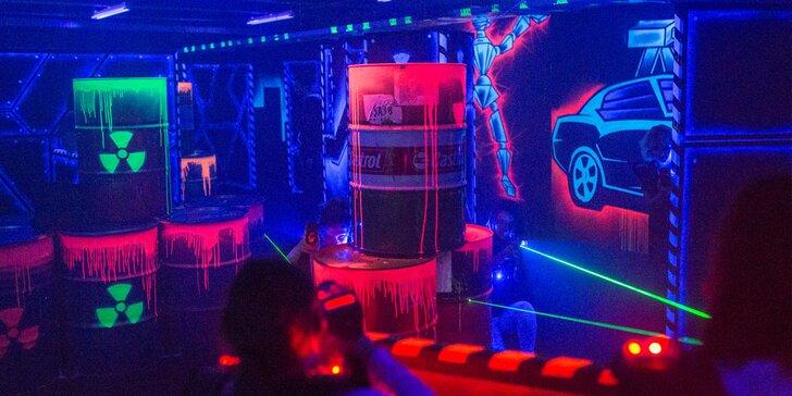 Adrenalínová Laser Game v Steam Factory