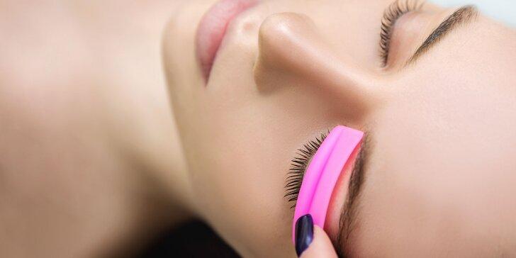 Získajte zvodný pohľad s Lash Liftom & Botoxom mihalníc a lamináciou obočia