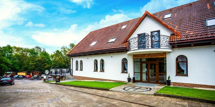 Pobyt v modernom Hoteli Palatín priamo pod Oravským Hradom