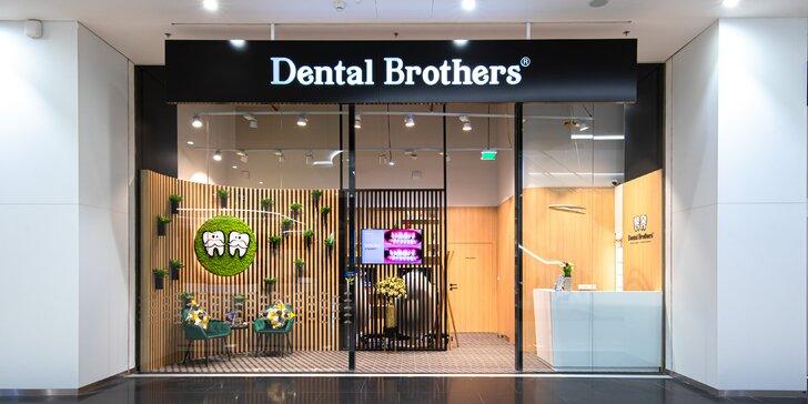 Balíček all inclusive: dentálna hygiena + bielenie v Dental Brothers OC NIVY