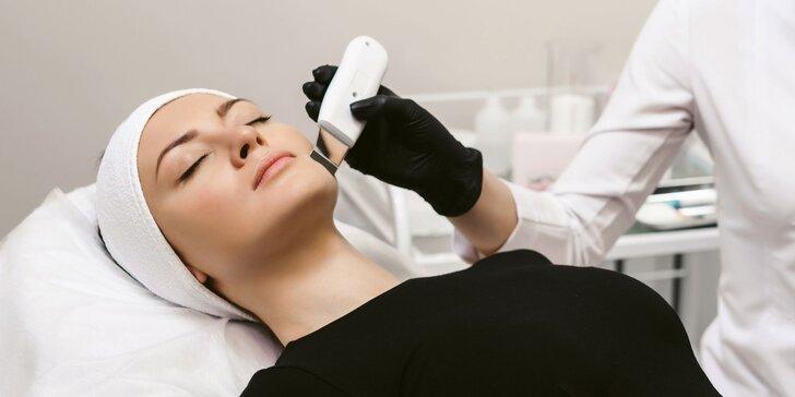 Hĺbkové ošetrenie pleti, ošetrenie s masážou, mikrodermabrázia či chemický peeling