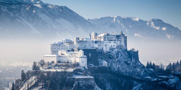 Zažite advent v Salzburgu - návšteva Mozartovho domu, jazera Wolfgangsee či dedinky Hallstatt