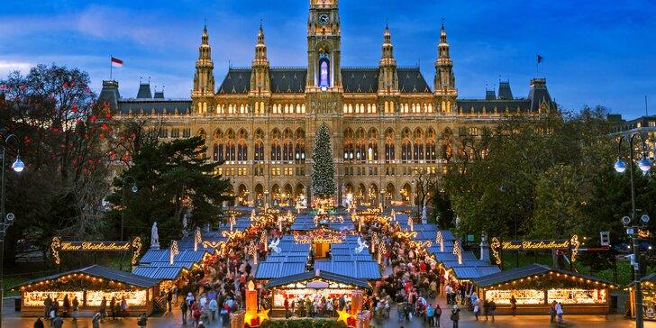 Zimná krása Viedne - prehliadka mesta s vianočnými trhmi
