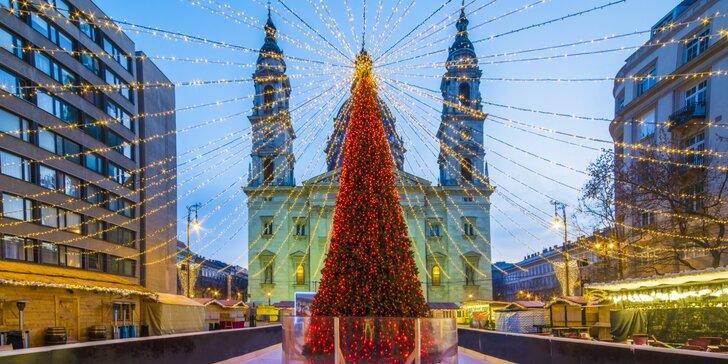 Odmeňte sa po celom roku darčekom a urobte si výlet do vianočnej Budapešti