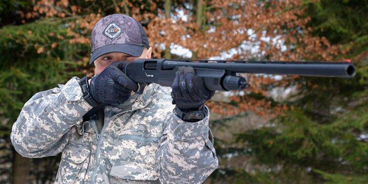 Akčný 2-hodinový kurz streľby: 4 druhy zbraní rôznych kalibrov