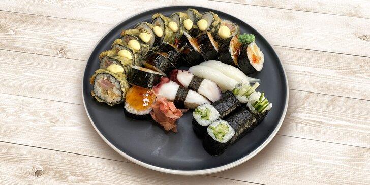 Lahodný sushi set pre 2 osoby v reštaurácii SUSHIHANIL