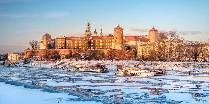 Čarokrásny Krakov s prehliadkou mesta, vianočnými trhmi a wellnessom