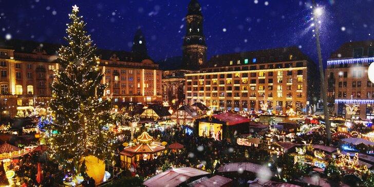 Kúzelné vianočné trhy v Drážďanoch a Liberci - najväčšia vianočná pyramída a štóla na svete, strom prianí či otáčavé ruské koleso