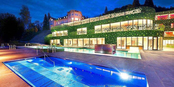 Blahodarný pobyt v slovinských kúpeľoch: hotel s polpenziou a neobmedzeným wellness