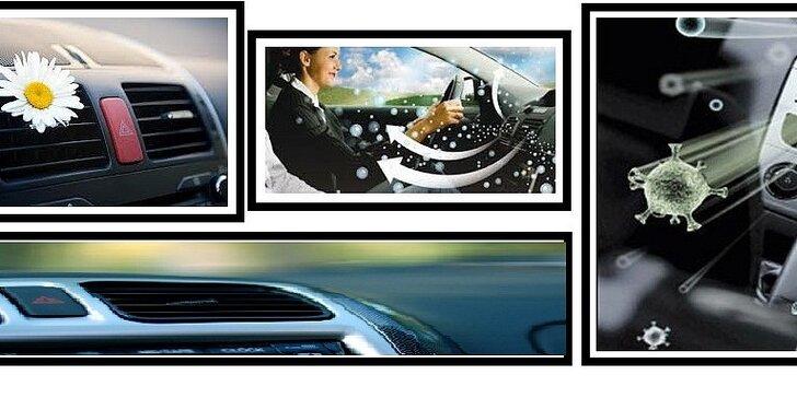 Čistenie klimatizácie ozónom vo vozidlách - 30 min