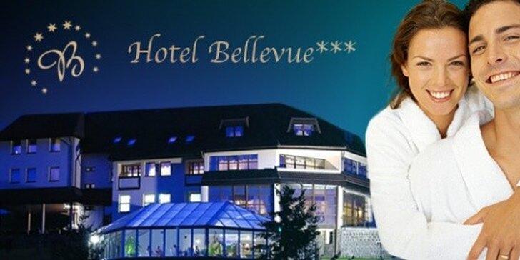 103 eur za 3-dňový wellness pobyt pre DVOCH v hoteli BELLEVUE***. Relax a pohoda v blízkosti historického BARDEJOVA. Zľava 58%!