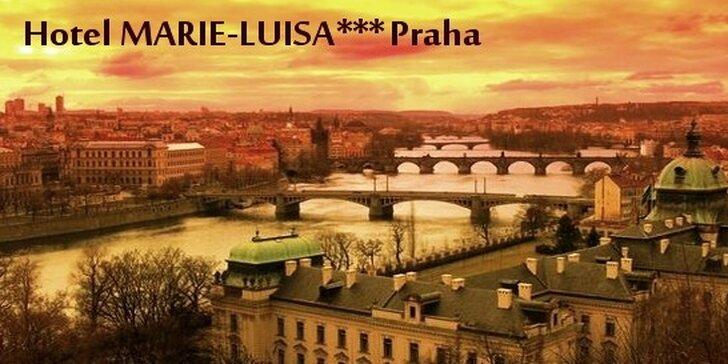 Príjemný rodinný hotel Marie-Luisa*** v Prahe