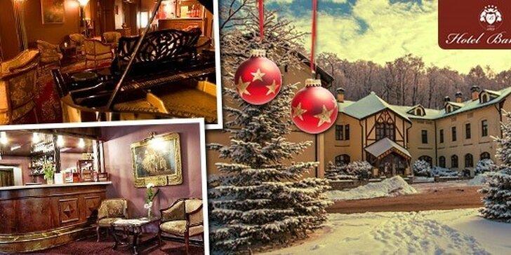 Vianočný wellness pobyt v Hoteli Bankov**** v Košiciach + Silvestrovská pozvánka