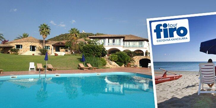 First moment All inclusive dovolenka na Sardínii