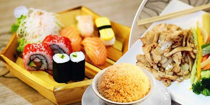 Ázijské menu pre dvoch v Auparku