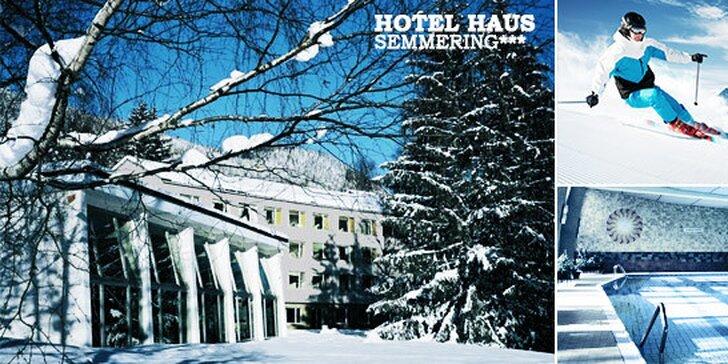 Pobyt pre dvoch v Hoteli Haus SEMMERING***