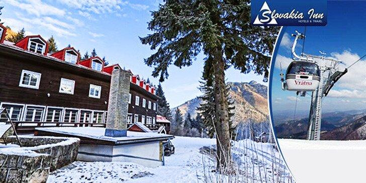 Pobyt pre lyžiarov vo Vrátnej Doline Hotel pod Sokolím