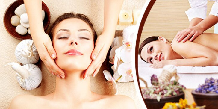 Klasická alebo športová masáž šije, chrbta, krížov alebo celého tela