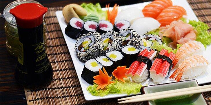 Sushi set (10 alebo 20 kúskov) v Sushi bare Sunshine v Auparku