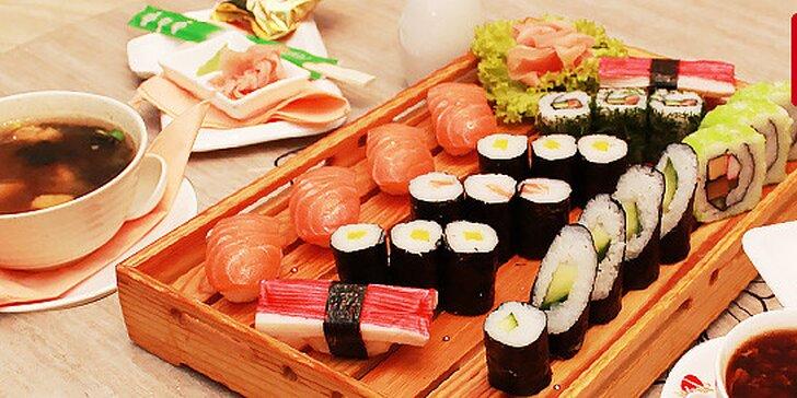 Sushi menu pre dvoch v Auparku